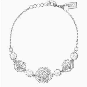 NWT Kate Spade Bracelet silver